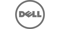 Logo Dell Cinza
