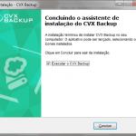 Instalando o CVX Backup